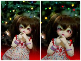 Christmas Lights II by AidaOtaku-BJD