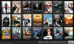 Movie Icon Pack 173 by FirstLine1