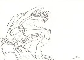 Master Chief by heinpold