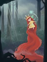 Child of Light in the night by Dreessa