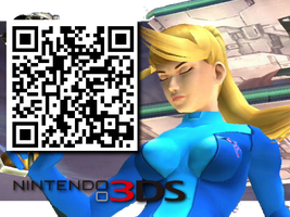 Samus Thinking in 3D - MPO for the 3DS by tamalesyatole