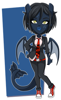 Little Monster Mystery Adopt: Night Fury by bigrika