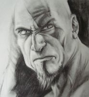 Kratos by jaxxyart