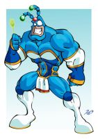 The Tick Hazelel Art Jam by RickCelis
