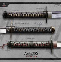Assassin's Creed 5: Rising Sun - Katana Variants by TheEnderling