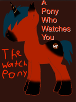 the watch pony by foxy-number-1fangirl
