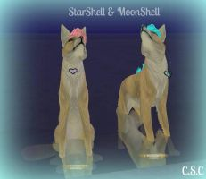 StarShell - MoonShell by FeralHeartMaddness