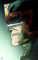 Judge Dredd by AndrewKwan