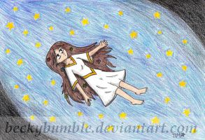 Drifting down the milky way by BeckyBumble