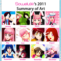 2011 art summary by sowelunee