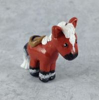 Mini Epona Sculpture by LeiliaClay