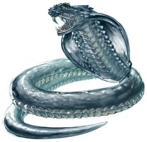 Crystal Snake by UdonCrew