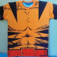 WOLVERINE T SHIRT AIRBRUSHED by javiercr69