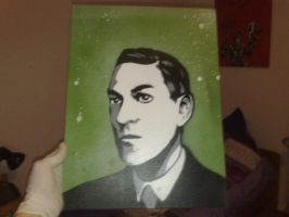 H. P. Lovecraft by TyrArgon
