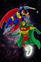 Big Barda Mr. Miracle P. S. by Thuddleston