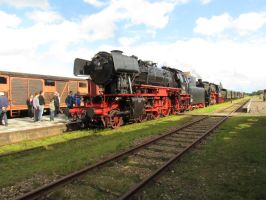 s.t.a.r. and sneek steamengine by damenster