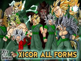 Xicor All Forms by Dairon11