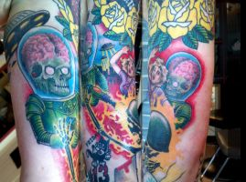 Mars Attacks by Uken
