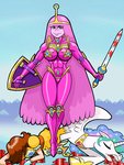 Princess Bubblegum Victorious by curtsibling
