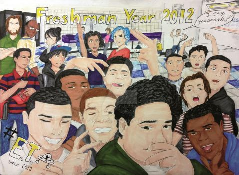 Freshman Year Page by Fast-Fish