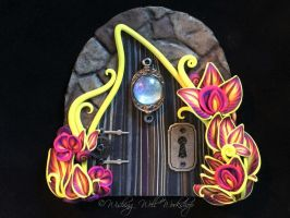 Polymer Clay Fairy Door-Wishing Well Workshop by missfinearts