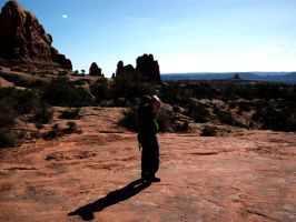 Photographer at Work 01 - Moab by LycanDID