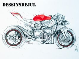 Panigale Naked by dessinsdejul