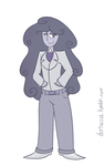 diamond - gemsona by lunar-pop