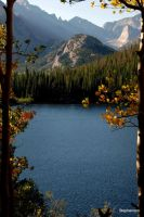 Bear Lake cropped in fall by MellsPics