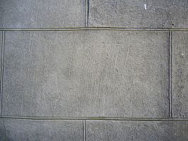 Cracked Cement Block Wall by dull-stock