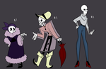 Skeleton Adopts by twitchiness