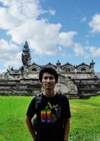 in front pura pasak by gegetlonely