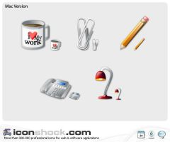 Office web  icons by Iconshock