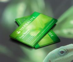 Herbalife Business Cards Idea by BorceMarkoski