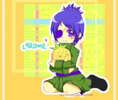 KHR-chrome chibi by leojiaz