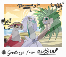 Greetings from Alola! by SpinoOne