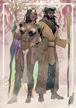 Josara and Kaylor.. Conquest by StalinDC