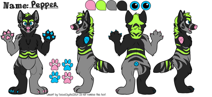Pepper Reference Sheet by Yazora