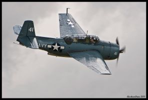 Planes of Fame 33 TBF Avenger by AirshowDave