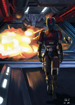 SWTOR - Ivaldi the Bounty Hunter by sympathized