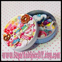 Kawaii Sweets Deco Tin by SugarAndSpiceDIY