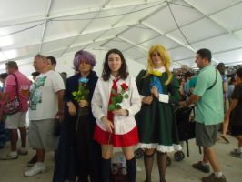 Hatsume Fair '13: Garry, Ib, and Mary by NaturesRose