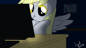 Yeaaah! I'm Pwning! by LionelBrony
