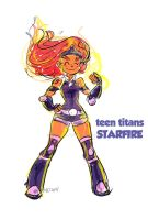 Titans: Starfire by kross29