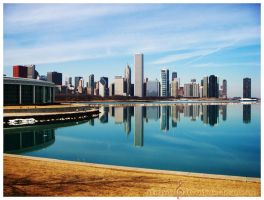 Chicago Water by SaylaMarz
