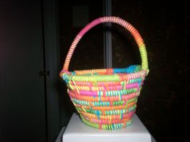 Colorful Easter Basket by FoaminianPriestess