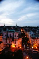 Prague view from the sky by Heurchon