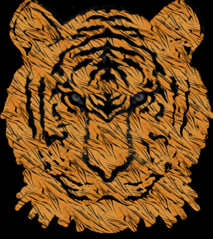 The Tiger - Powerful, Bold, Beautiful and Wise by Dragonsend