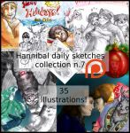Hannibal pack for patrons 7 by FuriarossaAndMimma