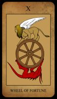 Extro Tarot - Wheel of Fortune by extro